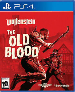 Wolfenstein - The Old Blood - PS4 NEW FREE US SHIPPING