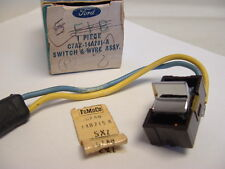 1967 FORD NOS POWER WINDOW LOCK OUT SWITCH OEM Rare Original 1968 ?