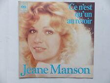 45 Tours JEANE MANSON Ce n'est qu'un aurevoir , chante ma guitare 5429