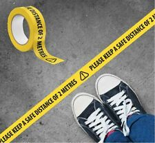 Social Distancing Floor Marking Tape Safety Workplace Please Keep Safe Distance