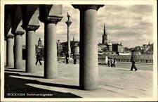 STOCKHOLM Svenska Sverige Pc ca. 1940/50 Brevkort Vintage Postcard Sweden