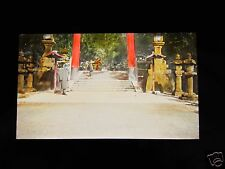GLASS MAGIC LANTERN SLIDE UNKNOWN LOCATION 25 C1920 POSSIBLY CHINA OR KOREA