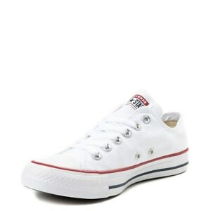 Converse All Star ox Canvas Womens Trainers Shoes White Size 6 UK / 39 EU