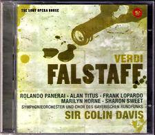 Verdi: Falstaff Rolando Panerai Alan Titus Marilyn Horne LOPARDO Colin Davis 2cd
