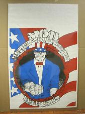 vintage Method Of Destruction U.S.A. for M.O.D. poster 2921