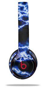 Skin Beats Solo 2 3 Electrify Blue Wireless Headphones NOT INCLUDED