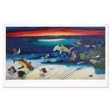 "Wyland ""Sea Life Below"" Signed Limited Edition Art; COA"