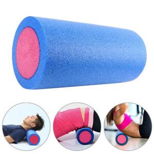 Faszienrolle Massage für Rücken Gymnastik Reha Yoga Pilates Fitness Rolle 30cm