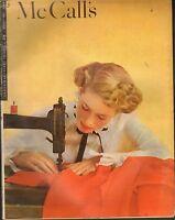 FEB 1948 vintage MCCALLS womens magazine - GREAT ADS