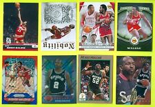 Lot of 60 ASSORTED Moses Malone NBA BASKETBALL CARDS