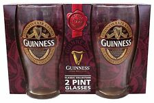Guinness Classic Collection 2 Pint Glass Pack