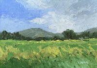 Snowdonia ORIGINAL LANDSCAPE PAINTING Steve Greaves Art Mountains Welsh Wales