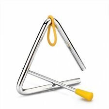 Musical Instruments Percussion Triangle Shaker forged Cowboy Dinner N3