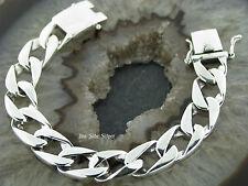 PANZERARMBAND Gliederarmband Silberarmband Feingehalt Silber 925 Armband 13mm