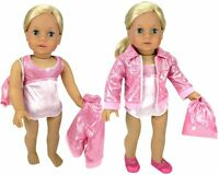 "Doll Clothes 18"" Gymnastic Pink Fits American Girl Dolls"