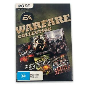 EA 11-Disc Warfare Collection: Battlefield 1942 + Medal Of Honor | PC DVD Games