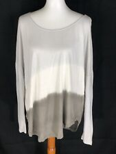 Soft Joie Womens Dip Dye Long Sleeve Small Top