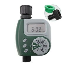 Automatic Water Timer Outdoor Garden Watering Irrigation Controller System LCD