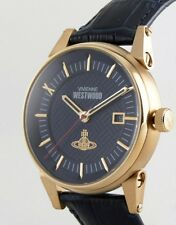 Vivienne Westwood Mens Classic Watch With Leather Strap Vv065blb