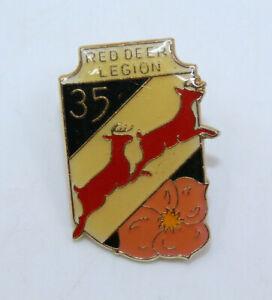 Red Deer Legion Branch 35 Alberta Canada Collectible Pinback Pin Button Vintage