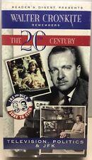 Walter Cronkite Remembers The 20th Century Television, Politics & JFK New Sealed