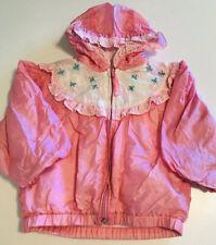 Vintage Samara Girls Pink Jacket Size 2T