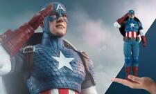 NEW IN BOX! HOT TOYS CAPTAIN AMERICA SIXTH SCALE FIGURE