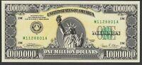 ONE MILLION DOLLARS, Schein aus USA 1988 Kuriosität !