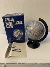 Vintage Apollo Moon Flights Globe- 1970 Made in Japan Bonus Enterprises