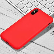 For Apple iPhone XR Xs Max X 8 7 Plus 6 Se 2020 Case Cover Proof Slim Silicone