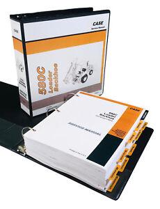 CASE 580C BACKHOE LOADER SERVICE MANUAL REPAIR SHOP BOOK TRACTOR~FULL OVERHAUL