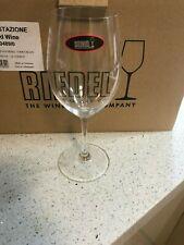 12 x Brand New RIEDEL Stemmed Red Wine Glasses Crystal Degustazione Range 0489/0
