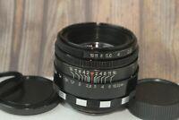 Russian early Helios-44 Zebra lens 2/58 mm for SLR Zenit M39 Bokeh King