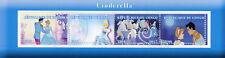 Congo 2017 CTO Cinderella 4v M/S Disney Animation Cartoons Stamps