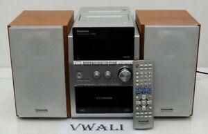 PANASONIC Mini Bookshelf Stereo System