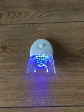 Teeth Whitening Blue Plasma LED Lamp Accelerator Light And Mouth Tray - WHITE