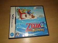 Zelda Phantom Hourglass Nintendo DS import Japon