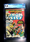 COMICS: Marvel Premiere #25 (1975), 1st John Byrne Iron Fist art - CGC 9.4