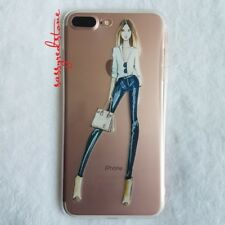 FASHIONISTA IPHONE 7/8 SOFT CLEAR CASE- CHIC OOTD YSL