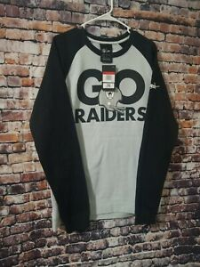 NWT Nike Raiders Crew Neck Sweater Size Large Gray with Black.
