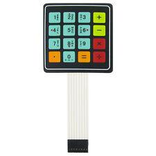4 X 4 Matrix 16 Calculator Key Membrane Keypad Arduinopiavrpic Usa Seller