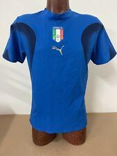MAGLIA ITALIA ITALY SHIRT JERSEY TRIKOT NO MATCH WORN VINTAGE 2006 COA