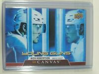 2020-21 Upper Deck Series 1 Young Guns Canvas Nick Robertson #C118 Maple Leafs