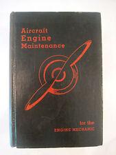 AIRCRAFT ENGINE MAINTENANCE~1939~HC~PHOTOS~ILLUSTRATED~TECHNICAL~Brimm/Boggess