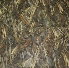 """TRUE TIMBER DRT SHEER DUCK BLIND CURTAIN CAMO POLYESTER FABRIC BY YARD 57""""W"""