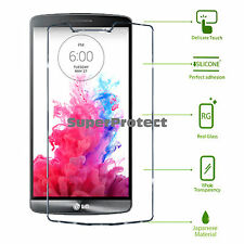 Two Pack 2X Tempered Glass Screen Protectors for LG G3 d855