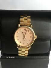 Marc Jacobs MBM3247 gold Mini Baker  women's watch