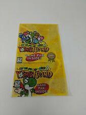 SNES Super Nintendo Yoshi's Island System Sticker Sign Promo Store Display VTG