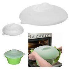 'Set of 2 Zak Silicone Lids Dome Microwave Food Splatter Cover Large Small Plates' from the web at 'https://i.ebayimg.com/thumbs/images/g/VOwAAOSwiHpaAbiU/s-l225.jpg'