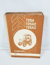 Vintage Belarus Tractor Parts Catalogmanual T25at25a23 Ussr Tractor Rare